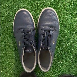 Lacoste blue sneakers